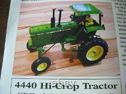 116 JOHN DEERE 4440 Hi-CROP 2021 TWO-CYLINDER CLUB TRACTOR NEW IN BOX