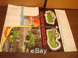 1950 John Deere Ao MC Orchard Tractor Brochure Catalog Literature Cf1285-89