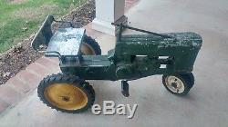 1950'S Eska John Deere Small 60 Pedal Tractor