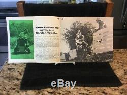 1963 John Deere Lawn & Garden Tractors Sales Brochure VG Condition A1591-63