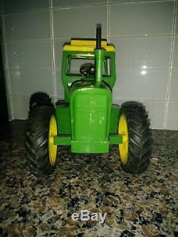 1970's Vintage John Deere 7520 Tractor By Ertl 1/16 Original Farm Toy