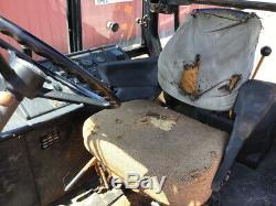 1987 John Deere 210C 2wd Tractor Loader Backhoe with Cab