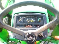 1995 John Deere 970 Diesel 4x4 Loader Tractor 4WD 33HP turf gear drive