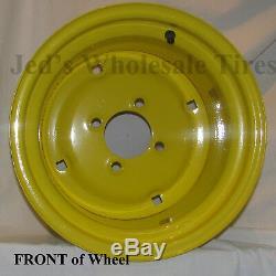 1 12 12x8.5 4/4 RIM WHEEL fits some John Deere Garden Lawn Tractors Mowers