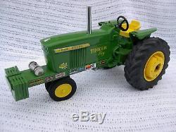 1/16 Custom John Deere Pulling Tractor Tinker Toy
