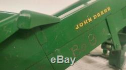 1/16 Ertl Eska Toy Farm Tractor John Deere 3010 & Mounted Corn Picker Long Nose
