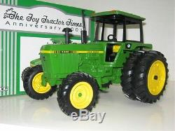 1/16 JOHN DEERE 4040 MFWD withDUALS TOY TRACTOR TIMES EDITION NIB free shipping