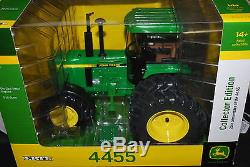 1/16 John Deere 4455 collector edition tractor with duals & front assist, Ertl