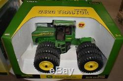 1/16 John Deere 9520 4wd tractor by Ertl with triples, hard to find new on box
