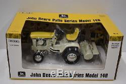 1/16 John Deere Lawn Garden tractor Patio Series Model 140 Yellow Precision Ertl