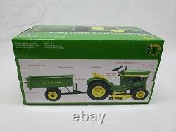 1/16 Precision #1 John Deere 110 Lawn & Garden Tractor WithCart by Ertl New in Box
