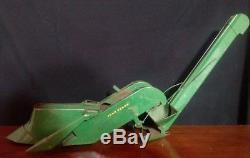 1/16 Toy Farm Tractor John Deere Mounted Corn Picker Vintage Eska Long Nose
