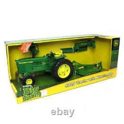 1/16th ERTL Big Farm John Deere 4020 Tractor with Blade and Mower 46378