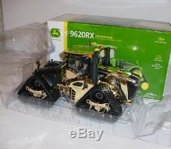 1/32 John Deere 9620RX Gold Chase Unit Farm Show Edition NIB