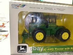 1/32nd Scale John Deere 8430 Tractor With Blade Collectors Edition Ertl Die-cast