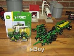 1/64 ERTL JOHN DEERE AIR SEEDER SET with John Deere 9470RX 4WD Tractor
