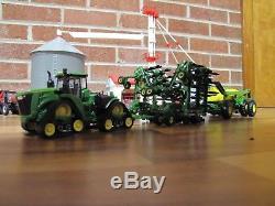 1/64 ERTL JOHN DEERE AIR SEEDER SET with John Deere 9570RX 4WD Tractor