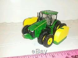 1/64 ERTL custom farm toy JOHN DEERE 8320r Tractor all Duals side quest tanks