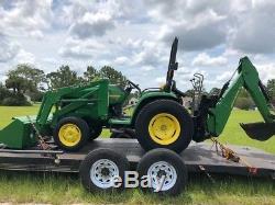 2001 John Deere 4400 4x4 Compact Tractor Loader Backhoe Coming Soon