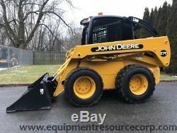 2002 John Deere 270 Rubber Tire Skid Steer Loader Cab Diesel Wheel Tractor