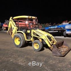 2004 John Deere 110 4x4 Compact Tractor Loader Backhoe. Coming In Soon