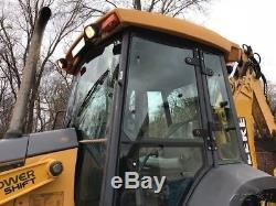 2004 John Deere 310G Backhoe Loader Extend-a-hoe Diesel Cab Tractor JD 310