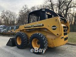 2005 John Deere 260 Rubber Tire Skid Steer Loader Two Speed Diesel Wheel Tractor