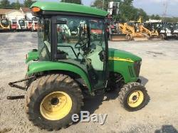 2006 John Deere 3720 4x4 Compact Tractor with Cab