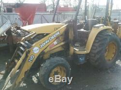 2007 John Deere 110 4x4 Compact Tractor Loader Backhoe Coming Soon