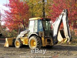 2008 John Deere 310SJ Backhoe Wheel Loader A/C Cab E-Stick Tractor bidadoo
