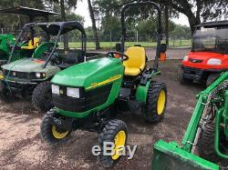 2008 John Deere 4010 4x4 Hydro Compact Tractor Only 100 Hours Coming Soon