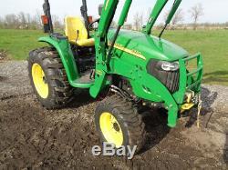 2010 John Deere 4320 Tractor, 4WD, JD 400X Loader, Power Reverser, 2,432 Hours