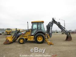 2011 John Deere 310J 4x4 Backhoe Wheel Loader Tractor Aux Hyd E-Stick AC Cab