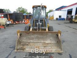 2012 John Deere 310SJ Backhoe Wheel Loader Tractor Cab MP 4-1 Bucket EPA bidadoo