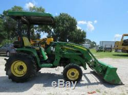 2012 John Deere 3320 4WD Utility Tractor 300CX Loader PTO 3-Point Hitch bidadoo