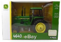 2017 ERTL 116 John Deere 4640 Tractor 40th Anniversart COLLECTOR EDITION NIB