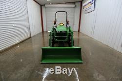 2017 John Deere 3032e Hst Tractor Loader
