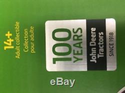 2018 ERTL 116 John Deere 100 YEARS WATERLOO BOY SILVER PRECISION TRACTOR