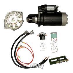 24V to 12V Conversion Kit John Deere Tractor 3010 3020 4010 4020