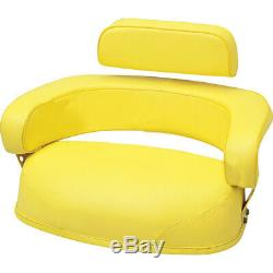 3 PIECE YELLOW SEAT ASSEMBLY fits John Deere 3010,3020,4020,4320,5020,6030,7520