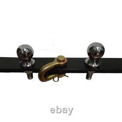 3 Pt Trailer Hitch Attachments 2 Ball & Clevis Drawbar Fits CAT 1 Tractor for K