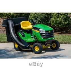 42'' Twin Bagger John Deere 100 Series Tractor Riding Lawn Mower Bushel Cap 6.5