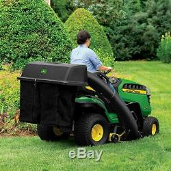 48'' Twin Bagger John Deere 100 Series Tractor Riding Lawn Mower Grass Collector