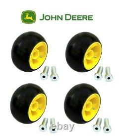 4 Pk John Deere Lawn Mower Deck Wheel Kits Am125172 X Gx LX Lawn Tractors 48 54