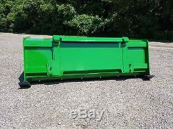 5' Low Pro John Deere snow pusher box FREE SHIPPING-RTR tractor loader snow plow