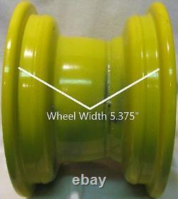 8 RIM WHEEL for John Deere Riding Lawn Mower Garden Tractor Drive Axle 8x5.375