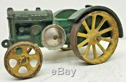 Antique Vindex Toys John Deere Model D Cast Iron Toy Tractor