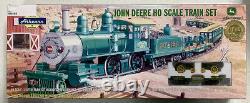 Athearn John Deere HO Scale Train Set WithTwo Anniversary Tractors MIB/New