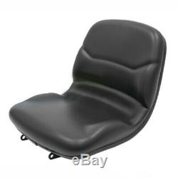 BLACK SEAT fits John Deere COMPACT TRACTORS 670,770,790,870,970,990,1070,3005 #J