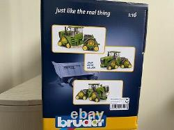 BRUDER JOHN DEERE 9620RX Tractor with Tracks 04055 Scale 116 Brand New